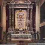 Pala marmorea dell'altare maggiore