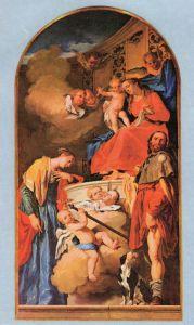 S. Lucia in preghiera