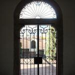 Cancellata di ingresso al monastero
