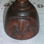 particolare simbolo francescano calice clarisse borgo