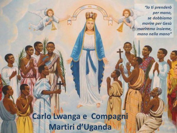 la memoria di San Carlo Lwanga e compagni martiri