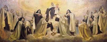 Madonna con santi