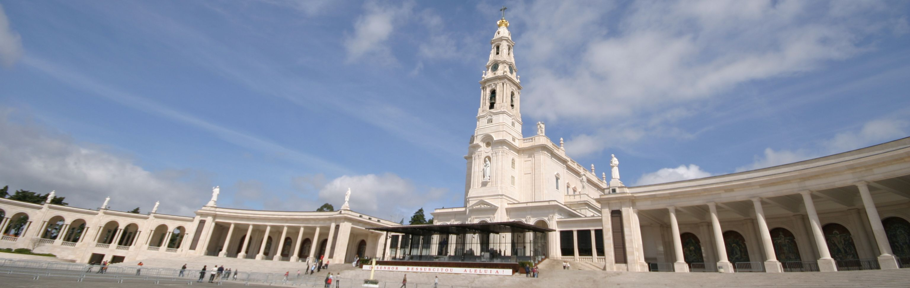 Fatima faith santuary in Portugal