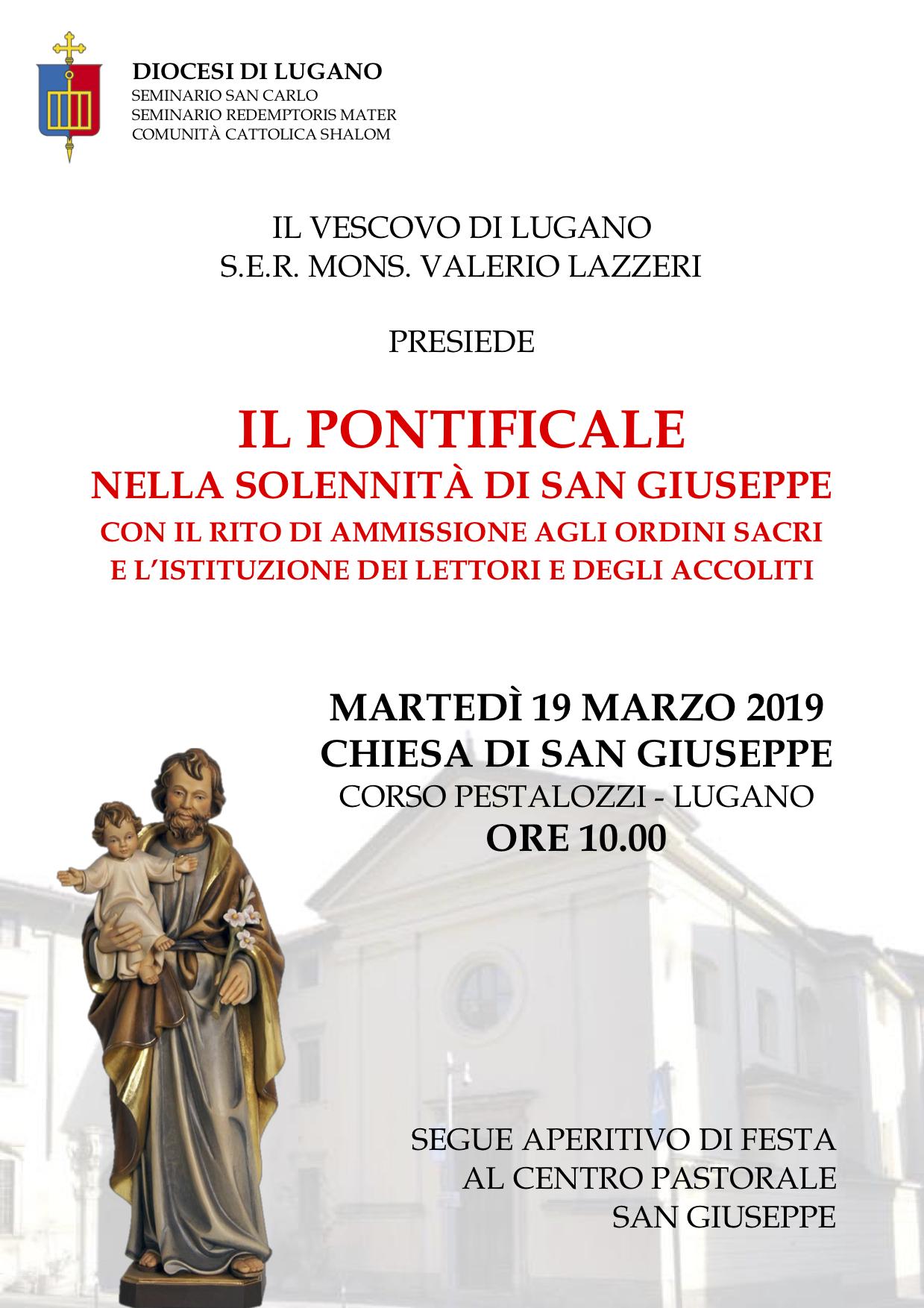Manifesto San Giuseppe 2019 SH