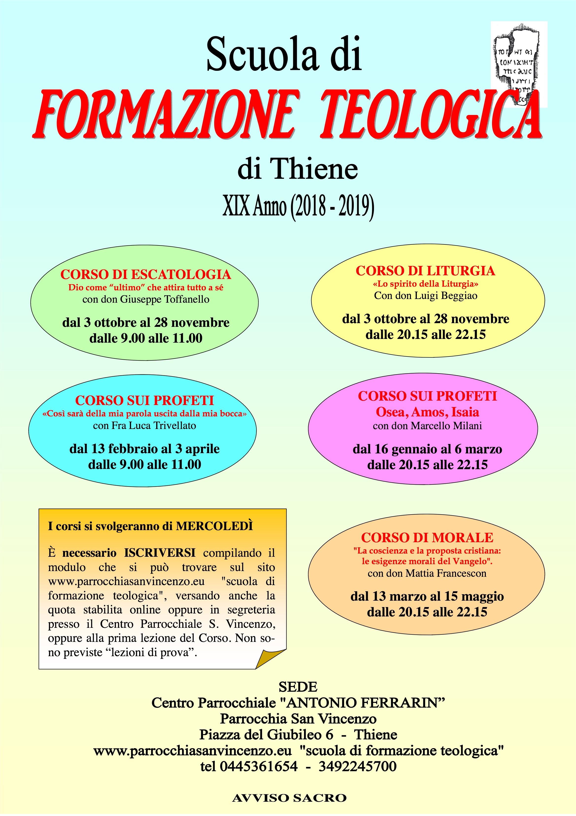 locandina Scuola 2018-2019 bis