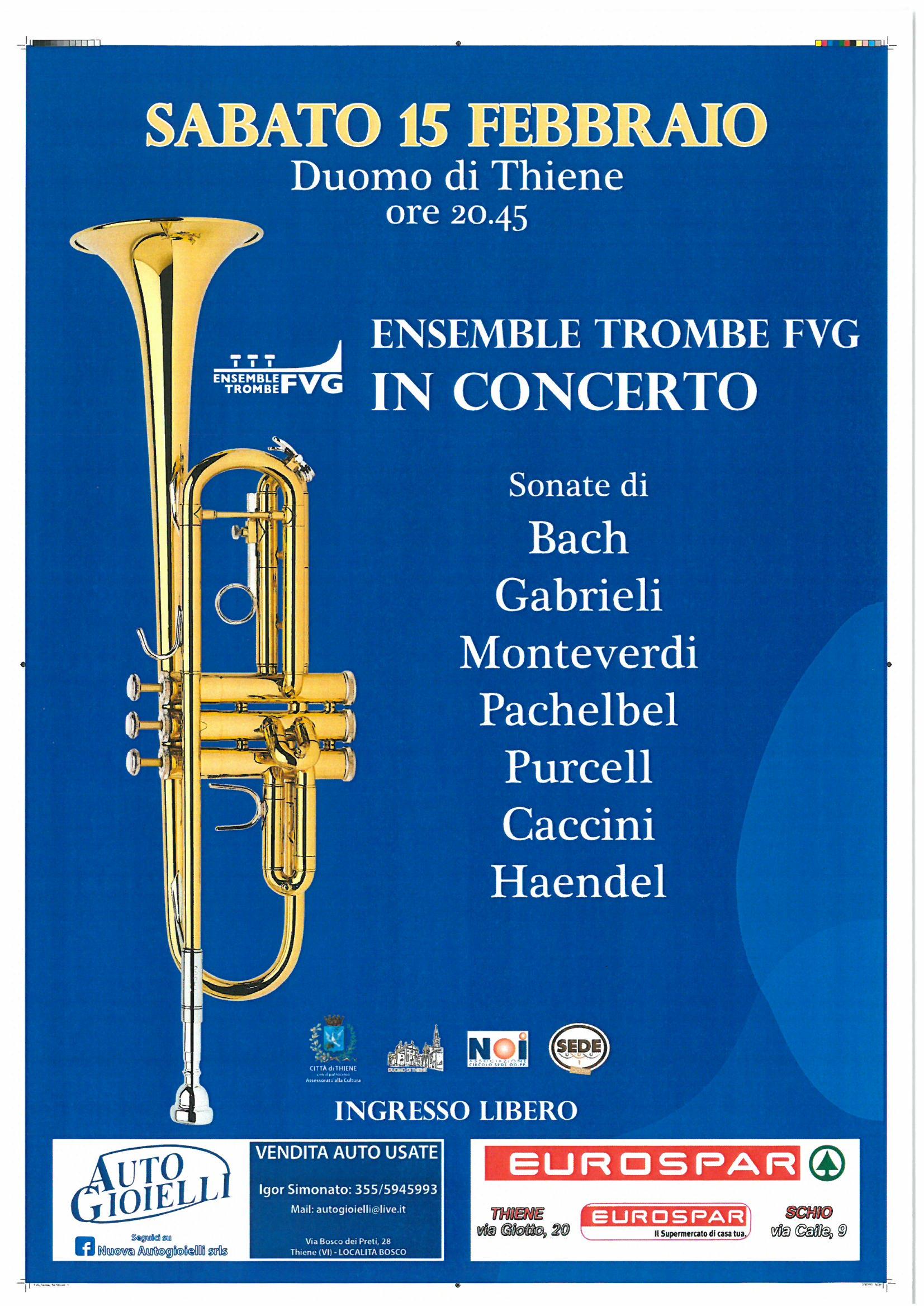 Concerto Duomo Thiene - 15 febbraio