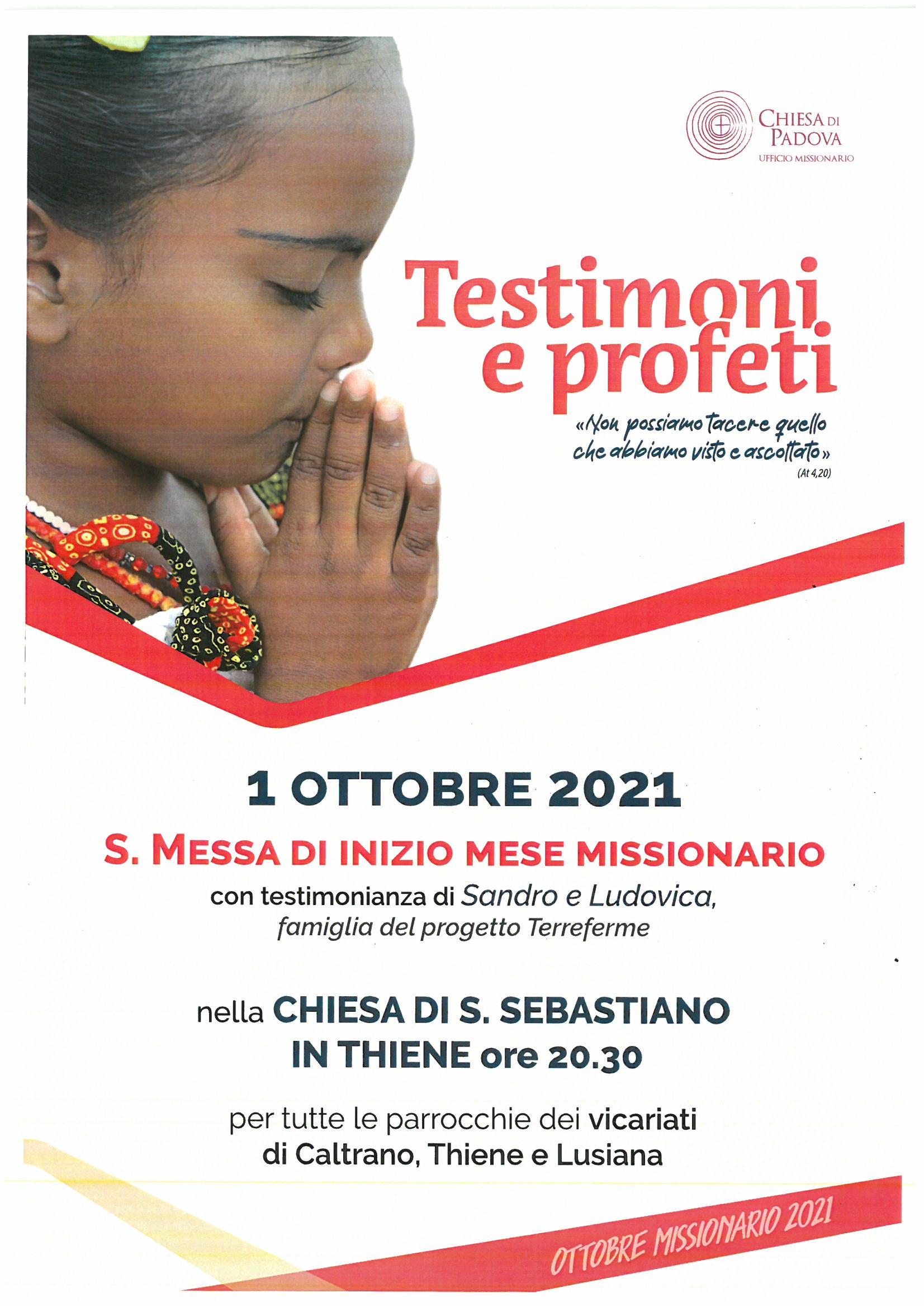 Ottobre missionario 2021